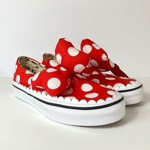 Vans x Disney Authentic Gore Minnie Mouse Sneakers